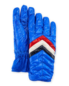 Moncler Men's Guanti Quilted Gloves