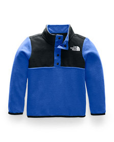 The North Face Girl's Glacier Colorblock Snap Fron