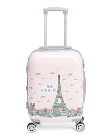 GABBIANO 20in Paris Hardside Spinner Carry-on