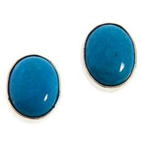 Jay King Sterling Silver Royal Blue Turquoise Oval