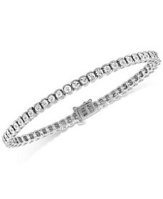Diamond Illusion Tennis Bracelet (1/2 ct. t.w.) in