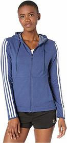 adidas 3 Stripe Training Full Zip Hoodie Sweatshir