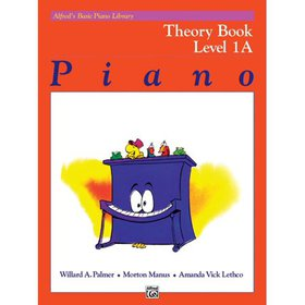 Alfred's Basic Piano Library Theory, Bk 1a (Paperb