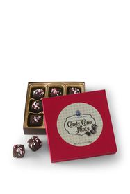 Lands End Dark Chocolate Candy Cane Mints