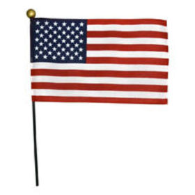 4 in. x 6 in. U.S. Flag on a Stick $0.56$0.59Save