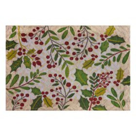 St. Nicholas Square® Holly Tapestry Placemat
