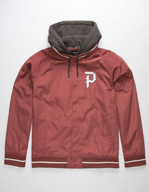 PRIMITIVE Varsity 2-Fer Mens Coaches Jacket_