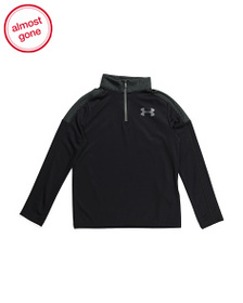 reveal designer Boys Tech Quarter Zip Top