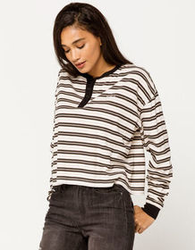 RVCA Severin Stripe Womens Henley_