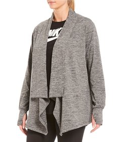 Nike Plus Size Yoga Collection Long Sleeve Wrap Ca