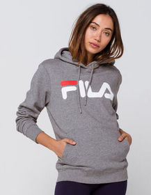 FILA Lucy Heather Gray Womens Hoodie_
