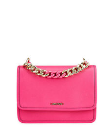 CALVIN KLEIN Chain Top Handle Crossbody Bag
