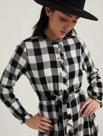 Lucky Brand Mackenzie Plaid Dress