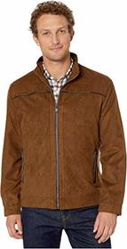 Johnston & Murphy Perforated Faux Suede Jacket