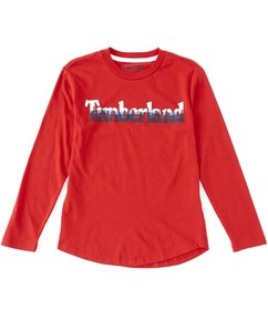 Timberland Big Boys 8-20 Long-Sleeve Auburn Tee
