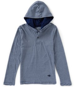 Buffalo David Bitton Big Boys 8-20 Stripe Hooded H