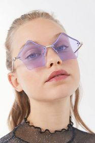 Out Of This World Rimless Sunglasses