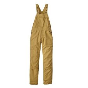 W's All Seasons Hemp Canvas Bib Overalls - Long, R