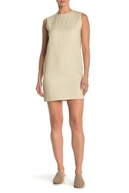 Theory Luxe Column Shift Dress