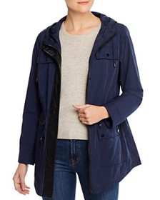Calvin Klein - Faux-Leather Trimmed Anorak