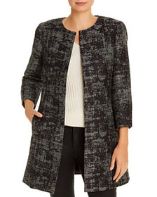 Eileen Fisher - Jacquard Open-Front Jacket