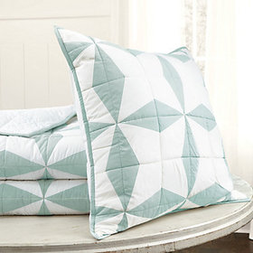 Ives Quilted Bedding - Spa