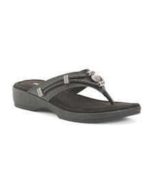 MINNETONKA Leather Comfort Sandals