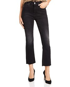 7 For All Mankind - Ankle Slim Kick Jeans in Dark