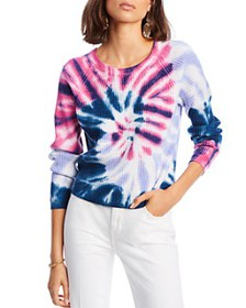 LINI - Hailey Tie-Dye Cable-Knit Sweater - 100% Ex