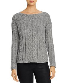 Eileen Fisher - Cable-Knit Sweater