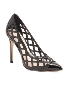 NINE WEST Cage Detail Pumps