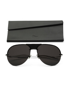 DIOR Made In Japan 60mm Aviator Designer Sunglasse