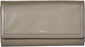 Fossil Logan Flap Clutch