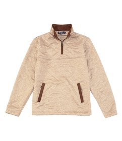 Cremieux Solid Quilted Quarter-Zip Pullover