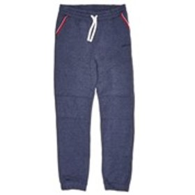 BEN SHERMAN Boys Navy Moto Accent Fleece Joggers (