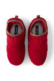 Lands End Women's Sherpa Fleece Bootie House Slipp