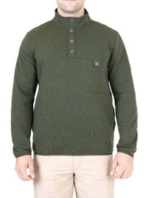 Mountain and Isles Men's Diamond Quilted Knit Pull