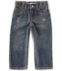 Levi's® Little Boys 2T-7X 514 Straight-Leg Jeans