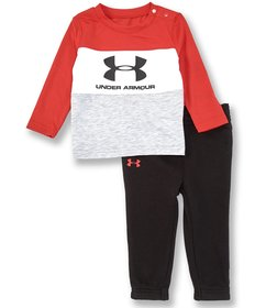 Under Armour Baby Boys Newborn-24 Months Long-Slee