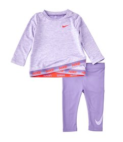 Nike Baby Girls 12-24 Months Dri-FIT Long-Sleeve C
