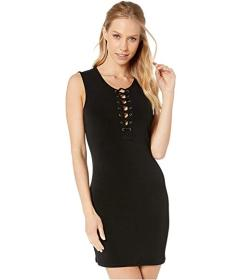 BCBGeneration Front Lace-Up Dress XYE6215119