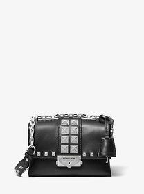 Michael Kors Cece Extra-Small Studded Leather Conv
