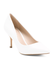 CHARLES BY CHARLES DAVID Pointy Toe Leather Pumps