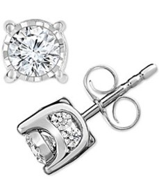Diamond Stud Earrings (3/4 ct. t.w.) in 14k White