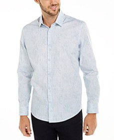 Men's Classic-Fit Abstract Plaid Shirt, Created Fo