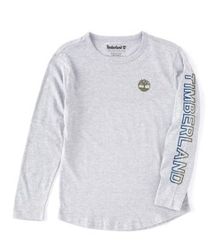 Timberland Big Boys 8-20 Long-Sleeve Bill Jersey T