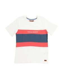 7 FOR ALL MANKIND Big Boys Crew Neck Tee