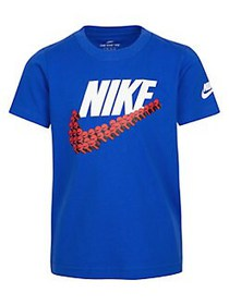 Nike Little Boy's Short-Sleeve Graphic Tee BLUE