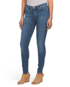 7 FOR ALL MANKIND High Waist Skinny Jeans