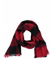 Forever21 Plaid Print Oblong Scarf